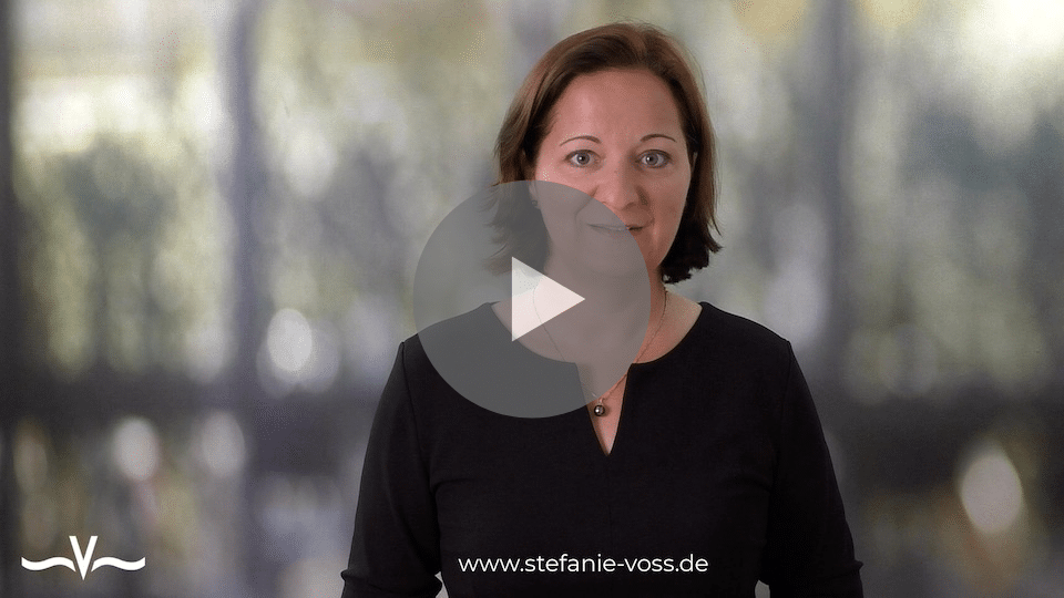Krisen können Chancen sein ... oder einfach Sch ...! - der Videoblog von Stefanie Voss