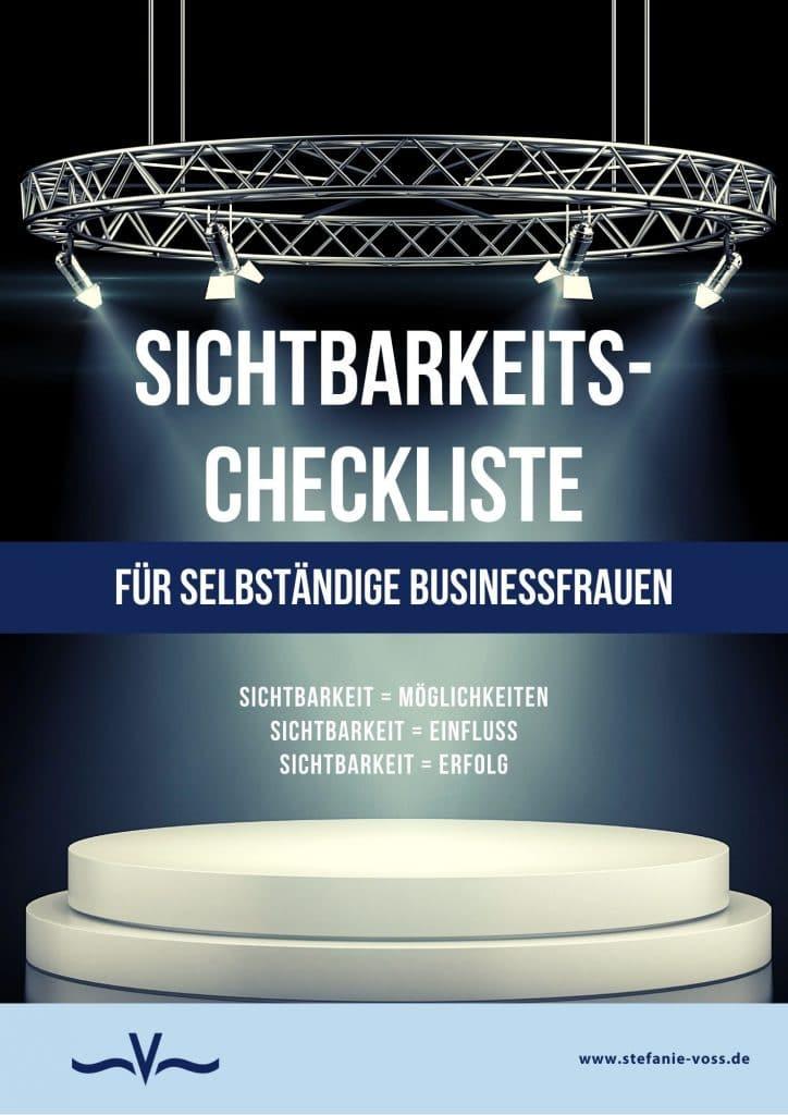 Sichtbarkeits-Checkliste-selbstaendig-Stefanie-Voss