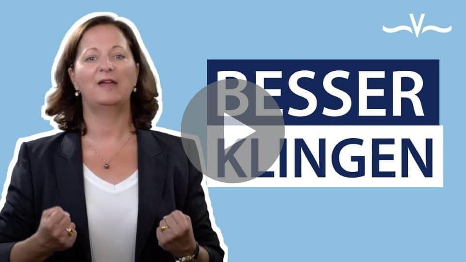 Die Stimme ist ein echter Kompetenz-Booster besonders für Frauen - Stefanie Voss