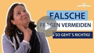 Drei fiese Fragen die Du in Deiner Kommunikation vermeiden solltest - Stefanie Voss
