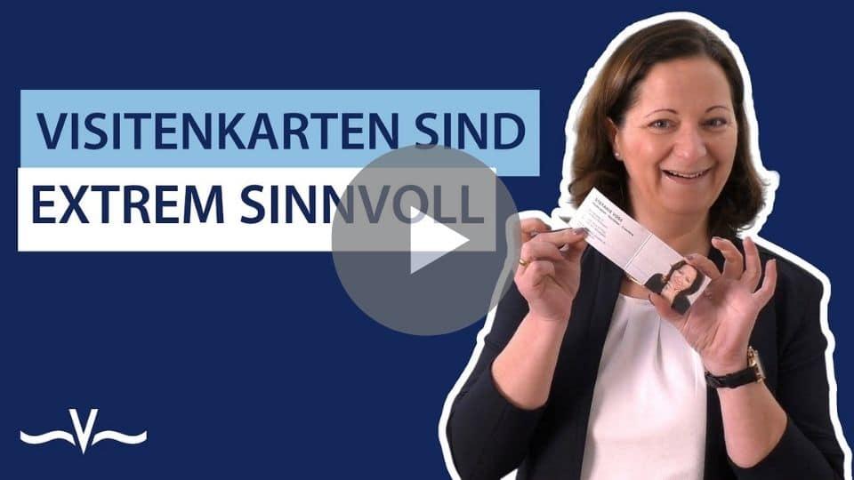 Ein Tool für Sichtbarkeit dank Visitenkarten im Gedächtnis bleiben - Stefanie Voss