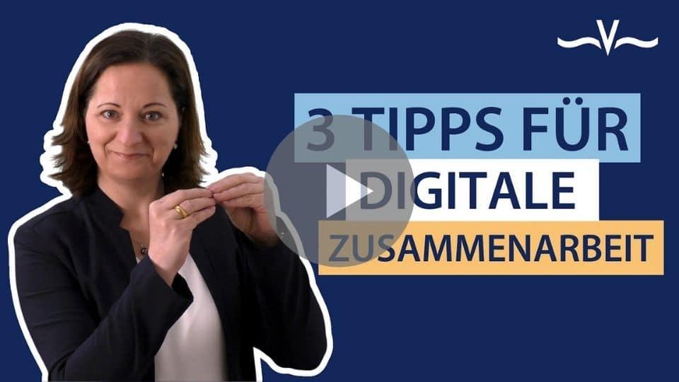 Tipps für digitale Zusammenarbeit damit Vertrauen und Nähe nicht verloren gehen - Stefanie Voss