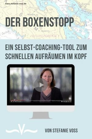 Der Boxenstopp - Ein Selbst-Coaching-Tool zum schnellen Aufräumen im Kopf von Stefanie Voss